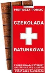 CZEKOLADA RATUNKOWA mleczna 100g Kukartka