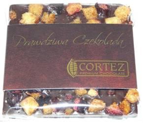 Cortez mini-czekolada ciemna śliwka i kardamon