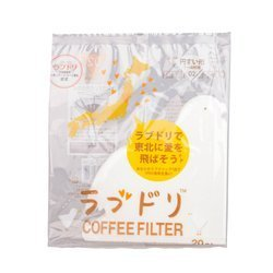 Hario Love Dori - Loveripper - filtry papierowe do dripa V60-02 20szt