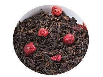 Herbata czerwona - Pu Erh Truskawka z Żurawiną