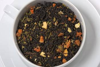 Herbata czerwona / yerba mate - Doskonała Sylwetka
