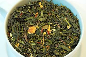 Herbata zielona - Sencha Grejpfrutowa