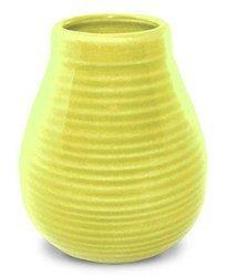 Matero Ceramiczne Calabaza żółte w prążki