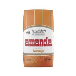 Yerba Mate Amanda Naranja 500g pomarańczowa