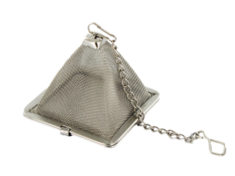 Zaparzacz piramidka na łańcuszku
