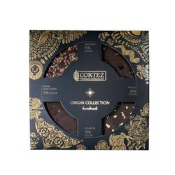 Zestaw czekoladek CORTEZ PREMIUM ORIGIN 4x35g