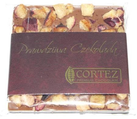 Cortez mini-czekolada mleczna miód-śliwka-cynamon