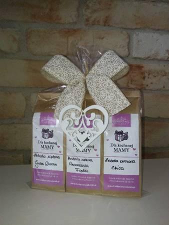 DLA KOCHANEJ MAMY Herbaciany zestaw prezentowy