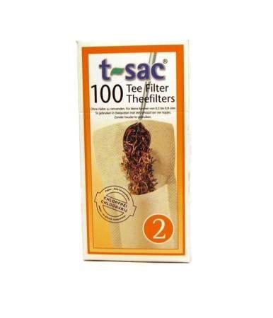 Filtry jednorazowe do herbaty t-sac 2
