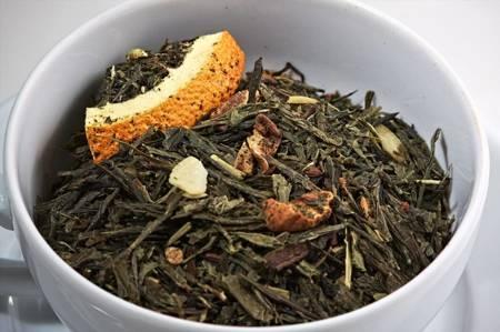 Herbata zielona - Cynamonowa Pokusa