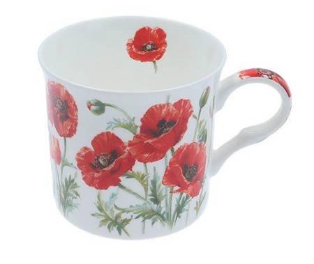 Kubek porcelanowy Poppy / Maki