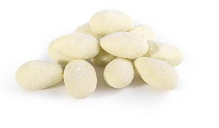 Migdały w białej czekoladzie z kokosem 100g - Doti