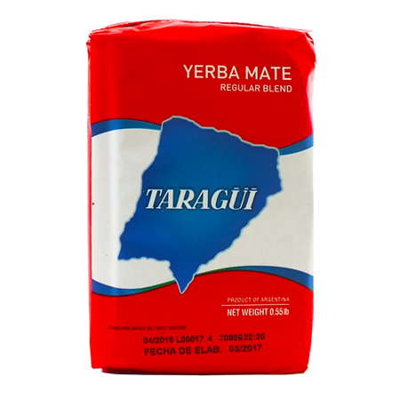 Yerba Mate Taragui Con Palo 250g Elaborada