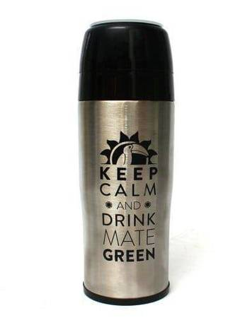 Yerbomos 2.0 350ml Keep Calm and drink Mate Green